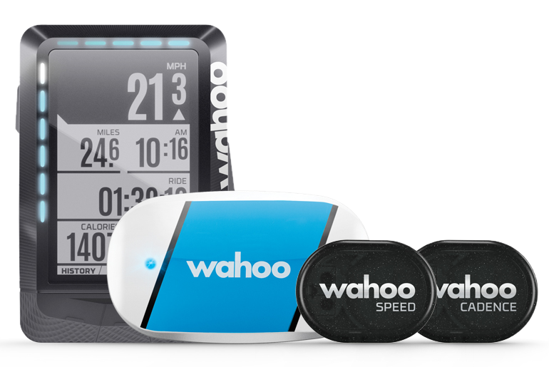 Wahoo ELEMNT - GPS, TICKR, RPM Combo Bundle